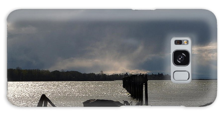 Fraser River Galaxy S8 Case featuring the photograph Sunday March 27 2016 by Darrell MacIver