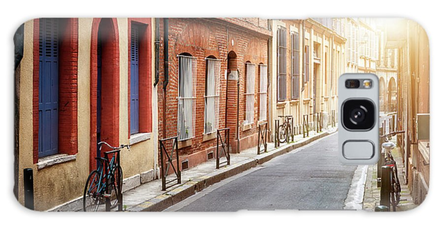 Toulouse Galaxy S8 Case featuring the photograph Sunlight In Toulouse by Elena Elisseeva