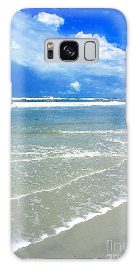 Fort Matanzas National Monument Galaxy S8 Case featuring the photograph Sunny Beach by Thomas R Fletcher