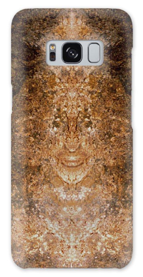 Rocks Galaxy Case featuring the photograph Sunqueen Of Woodstock by Nancy Griswold