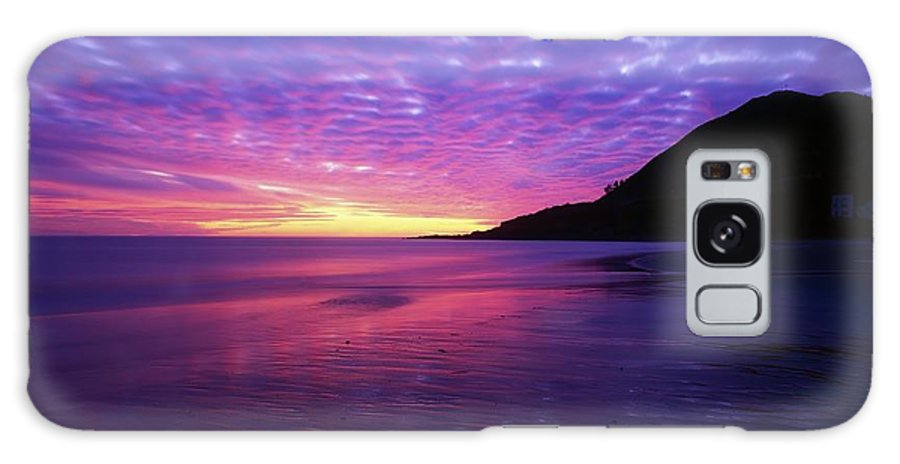 Bray Head Galaxy S8 Case featuring the photograph Sunrise At Bray Head, Co Wicklow by The Irish Image Collection