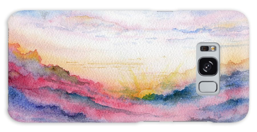 Watercolor Galaxy S8 Case featuring the painting Sunrise by Brenda Owen