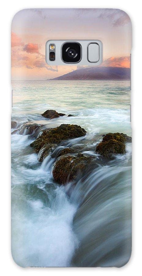 Sunrise Galaxy S8 Case featuring the photograph Sunrise Drain by Mike Dawson