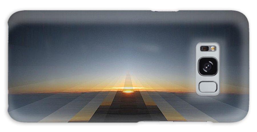 Sunrise Galaxy S8 Case featuring the digital art Sunrise From 30k 3 by Tim Allen