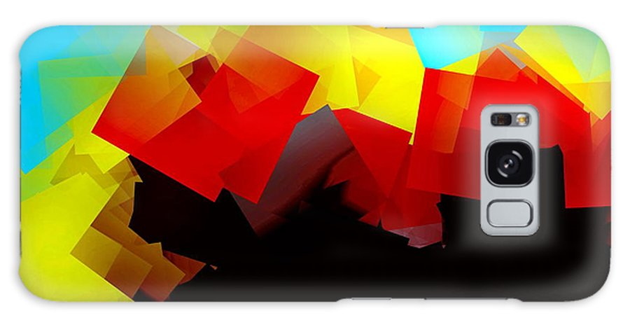 Sunrise Galaxy Case featuring the digital art Sunrise by Helmut Rottler