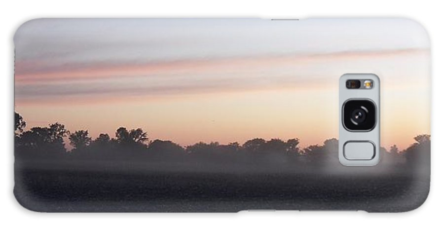 Sunrise Galaxy S8 Case featuring the photograph Sunrise On The Mists by Peggy King