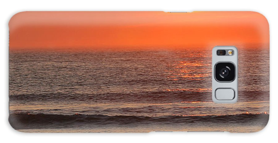 Ocean Galaxy S8 Case featuring the photograph Sunrise On The Oceanside by Max Allen