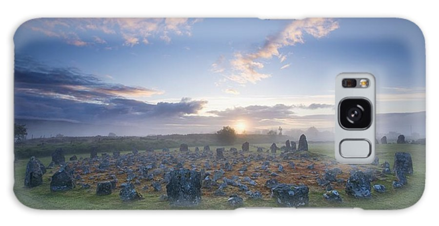 Beaghmore Stone Circles Galaxy S8 Case featuring the photograph Sunrise Over Beaghmore Stone Circles by Gareth McCormack