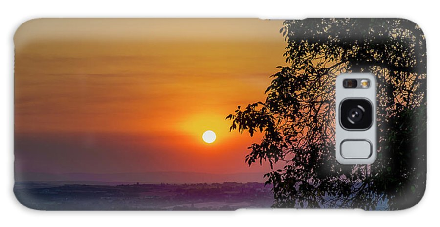 Galaxy S8 Case featuring the photograph Sunrise Over The Valley by Marcia Darby