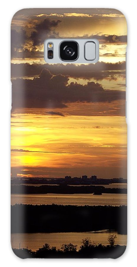 Sunset Galaxy S8 Case featuring the photograph Sunset 0001 by Laurie Paci