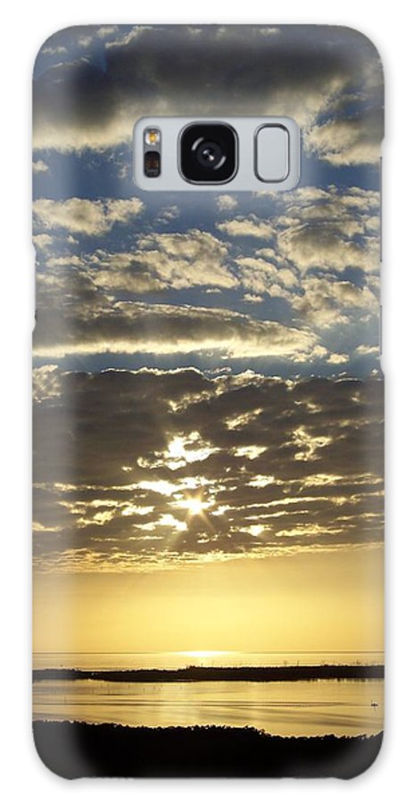 Sunset Galaxy S8 Case featuring the photograph Sunset 0011 by Laurie Paci