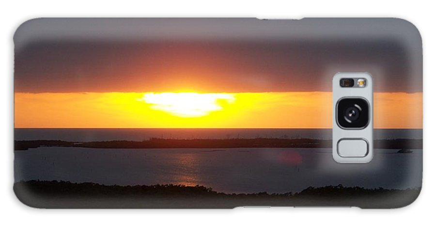 Sunset Galaxy S8 Case featuring the photograph Sunset 0016 by Laurie Paci