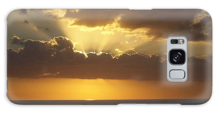 Sunset Galaxy S8 Case featuring the photograph Sunset 0024 by Laurie Paci