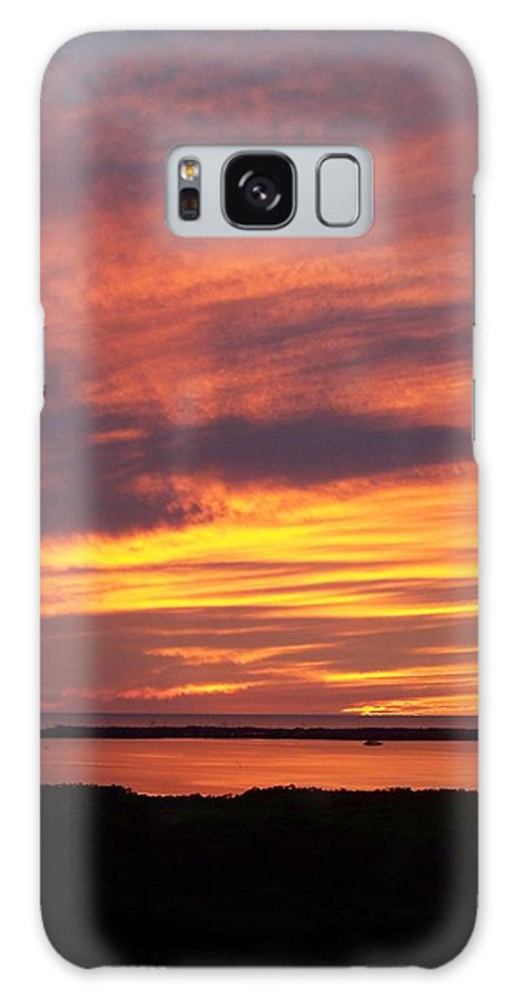Sunset Galaxy S8 Case featuring the photograph Sunset 0037 by Laurie Paci
