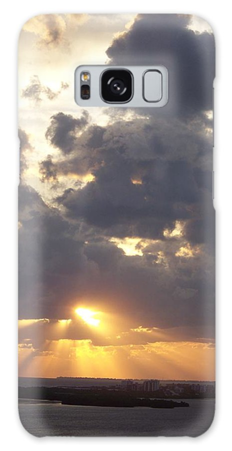 Sunset Galaxy S8 Case featuring the photograph Sunset 0045 by Laurie Paci