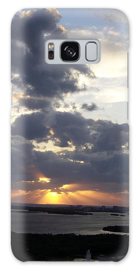 Sunset Galaxy S8 Case featuring the photograph Sunset 0046 by Laurie Paci