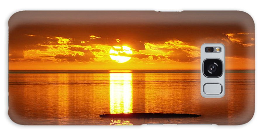 Sunset Galaxy S8 Case featuring the photograph Sunset At Horseshoe Beach - Debbie-may by Debbie May