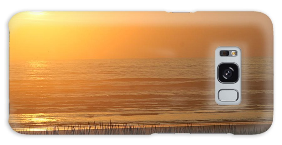 Sunset Galaxy S8 Case featuring the photograph Sunset At The Beach by JoJo Photography