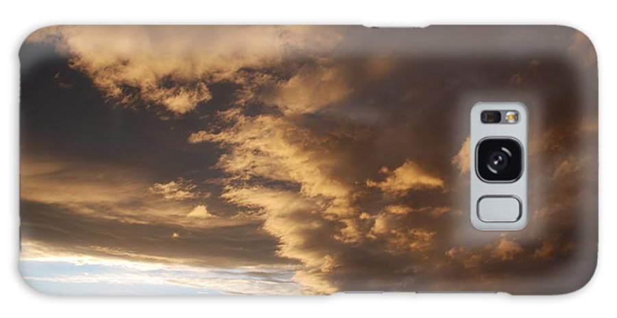 Sunset Galaxy Case featuring the photograph Sunset At The New Mexico State Capital by Rob Hans