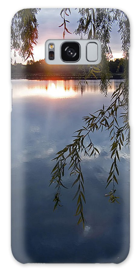 Nature Galaxy Case featuring the photograph Sunset by Daniel Csoka