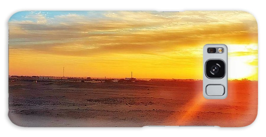 Sunset Galaxy S8 Case featuring the photograph Sunset In Egypt by Usman Idrees