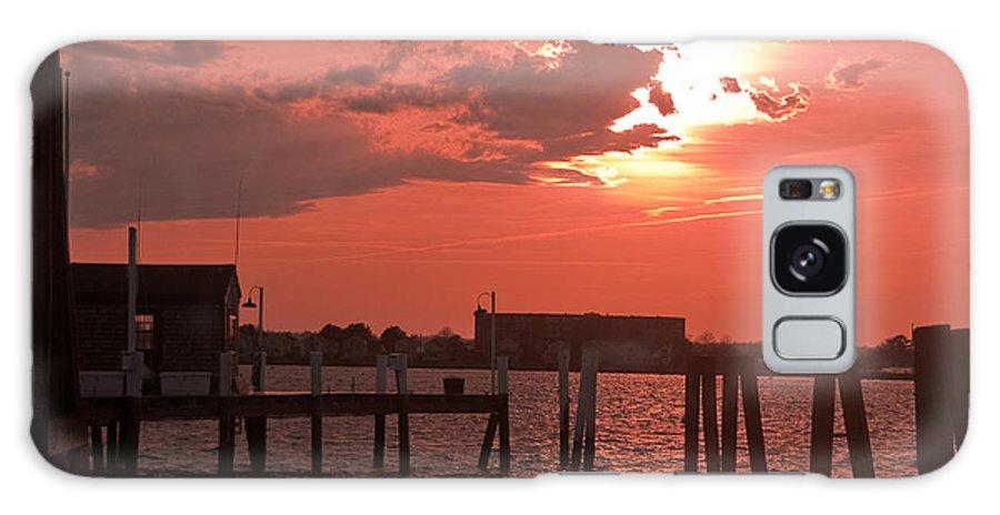 Sunset Galaxy S8 Case featuring the photograph Sunset Newport Rhode Island by Steven Natanson