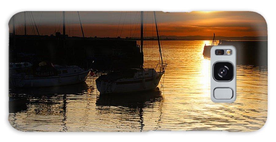 Nik Watt Galaxy S8 Case featuring the photograph Sunset On Fisherrow by Nik Watt
