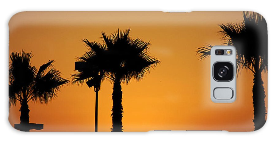 Clay Galaxy S8 Case featuring the photograph Sunset On Socal Beach by Clayton Bruster