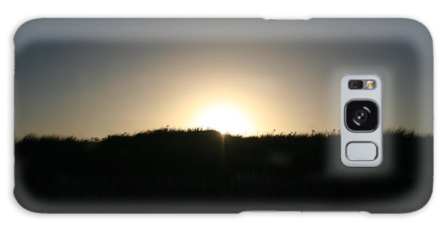 Sun Galaxy S8 Case featuring the photograph Sunset Over The Dunes by Hannah Goddard-Stuart