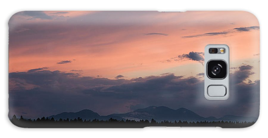 Brnik Galaxy S8 Case featuring the photograph Sunset Over The Kamnik Alps by Ian Middleton