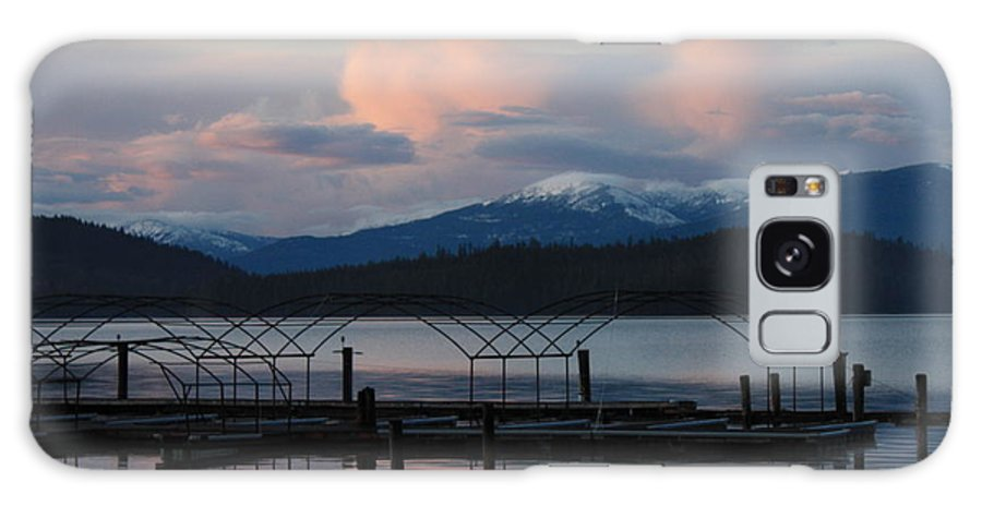 Priest Lake Galaxy S8 Case featuring the photograph Sunset Reflecting Off Priest Lake by Carol Groenen