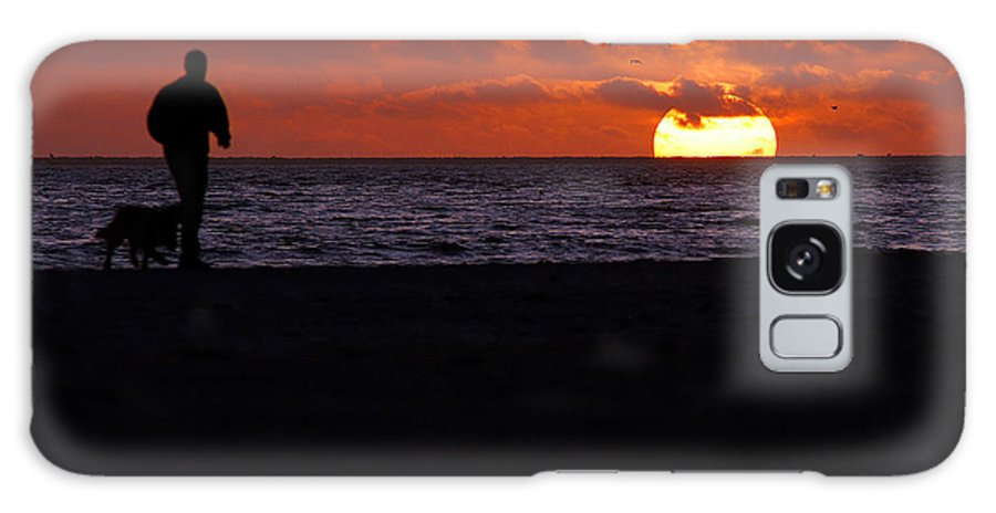 Clay Galaxy S8 Case featuring the photograph Sunset Run by Clayton Bruster