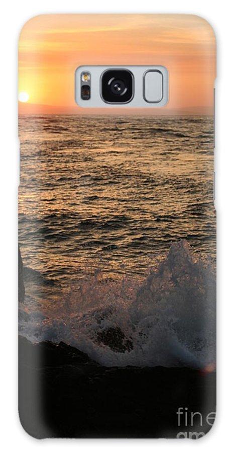Splash Galaxy S8 Case featuring the photograph Sunset Splash by Idaho Scenic Images Linda Lantzy