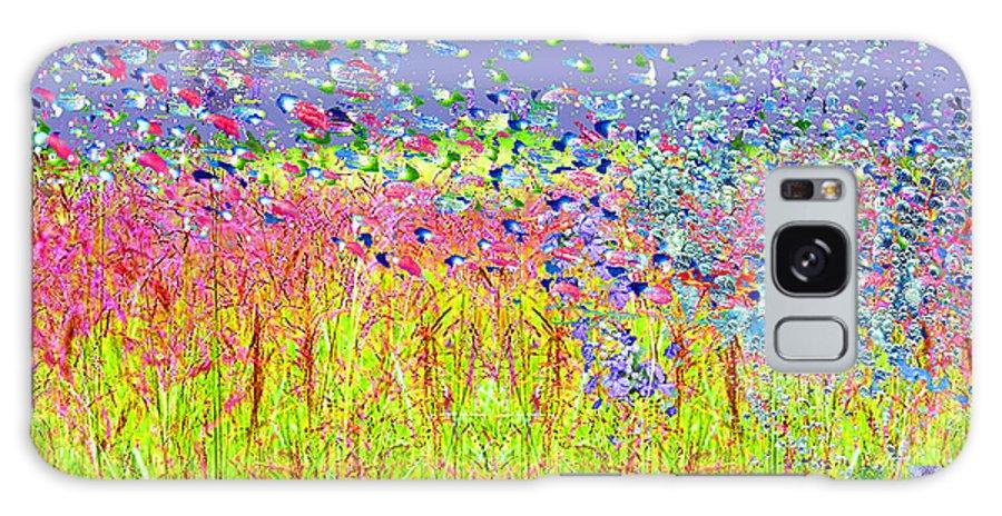 Landscape Galaxy S8 Case featuring the digital art Sunstorm by Dorothy Pugh