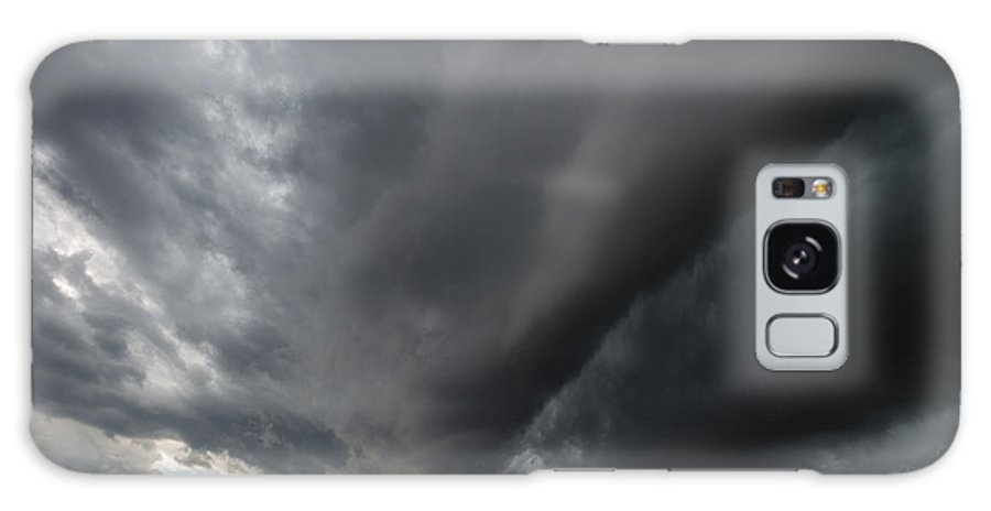 Supercell Galaxy S8 Case featuring the photograph Supercell Overhead by Aaron J Groen