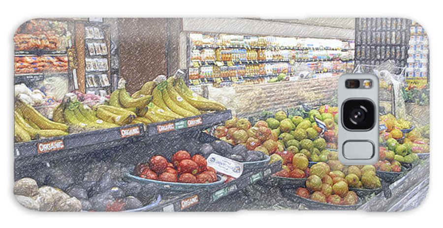 Supermarket Produce Section Galaxy S8 Case featuring the photograph Supermarket Produce Section by David Zanzinger