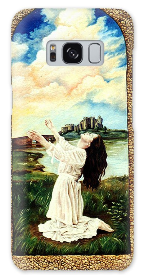 Christian Galaxy Case featuring the painting Surrender by Teresa Carter