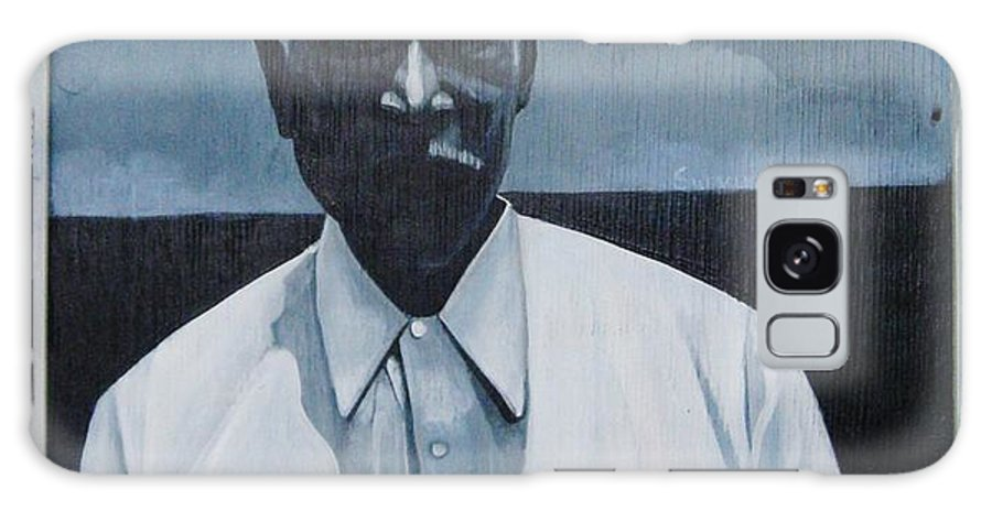 Man Galaxy Case featuring the painting Survivor James by Joyce Owens