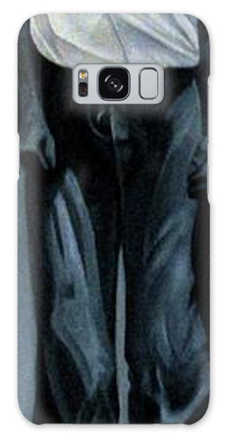 Slavery Galaxy S8 Case featuring the painting Survivor Spirit Albert by Joyce Owens