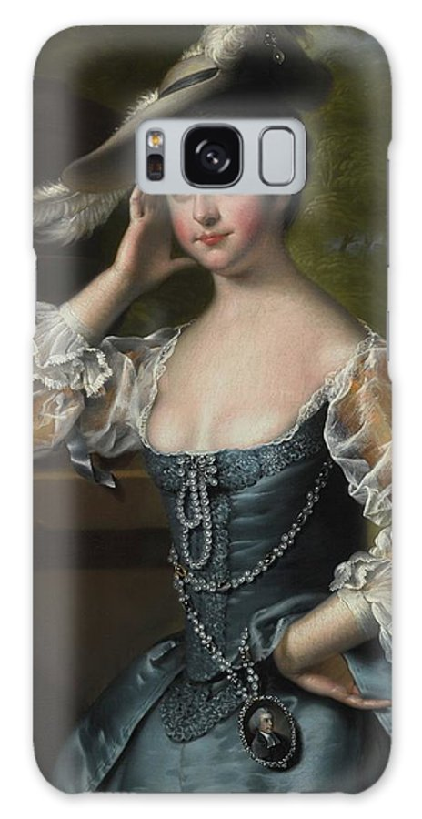 Joseph Wright Of Derby Galaxy S8 Case featuring the painting Susannah by Joseph Wright