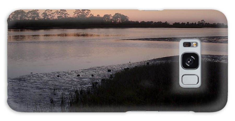River Galaxy S8 Case featuring the photograph Suwanee River At Dusk by Sven Brogren