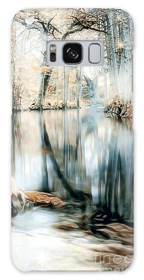 Landscape Galaxy S8 Case featuring the digital art Paradise by Peter R Nicholls