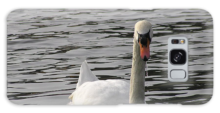 Swan Galaxy Case featuring the photograph Swan by Louise Magno