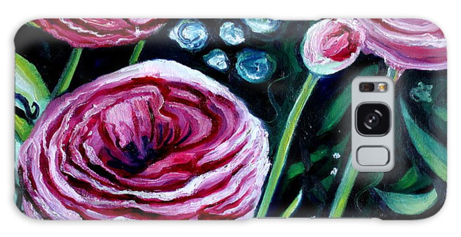 Garden Galaxy S8 Case featuring the painting Sweet Delight by Elizabeth Robinette Tyndall