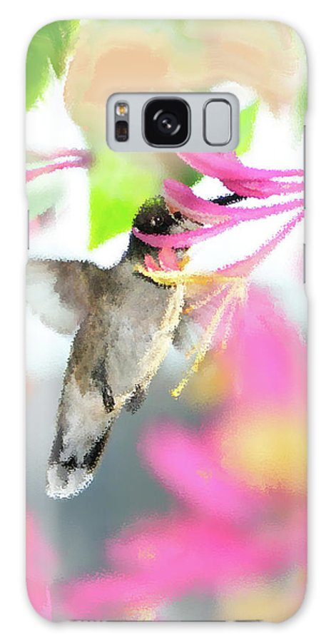 Ruby-throated Hummingbird Galaxy S8 Case featuring the photograph Sweet Surprise by Betty LaRue