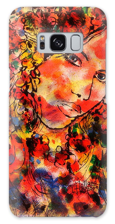 Impressionism Galaxy Case featuring the painting Sweetheart by Leonard Holland
