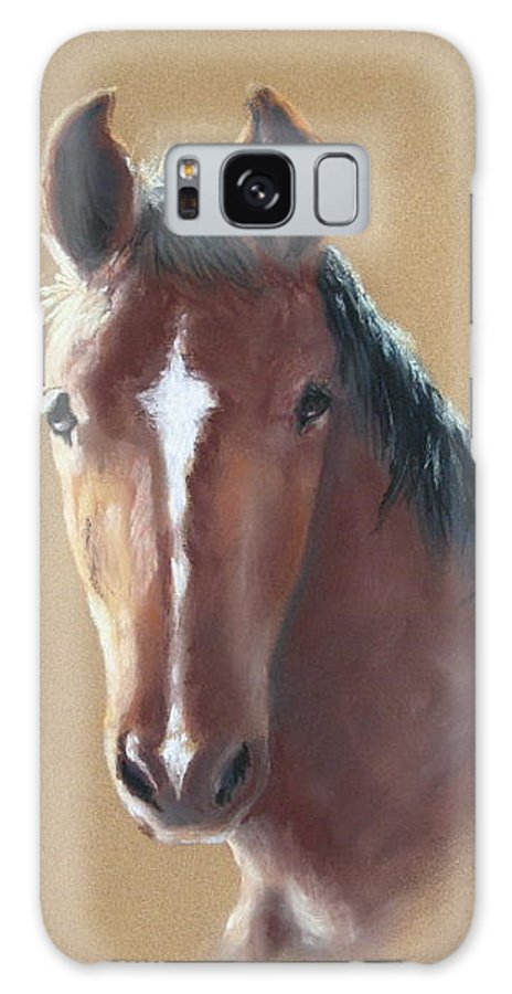 Horse Galaxy S8 Case featuring the painting Sweetie by Carol Mueller