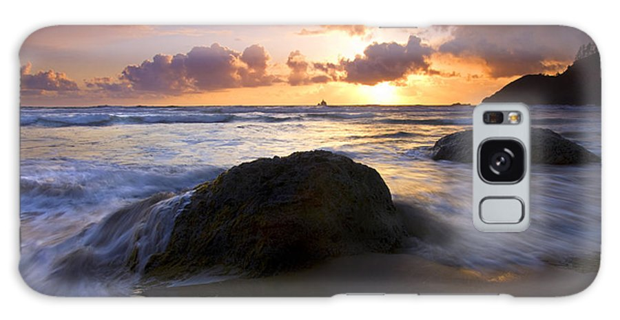 Sunset Galaxy S8 Case featuring the photograph Swept Away by Mike Dawson