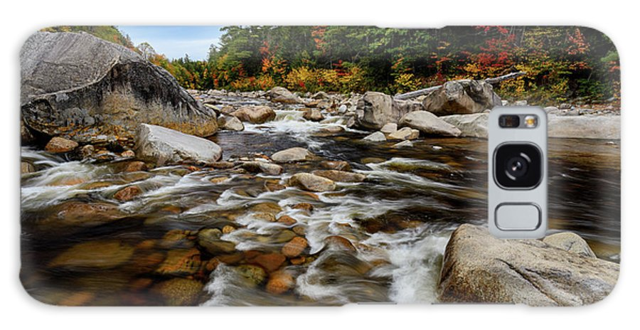 Swift River Nh Galaxy S8 Case featuring the photograph Swift River Autumn Nh by Michael Hubley