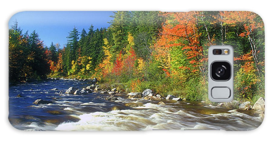 New Hampshire Galaxy S8 Case featuring the photograph Swift River White Mountains by John Burk